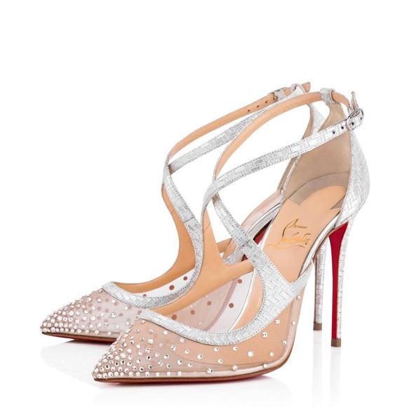 online retailer acdd8 a2927 Christian Louboutin Version Crystal size 36.5